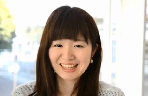 蓮佛杏沙子さん、笑い顔