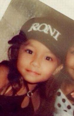 桜井美悠さんの子供のころの写真