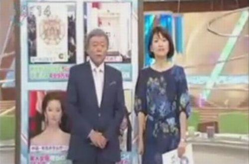 菊川怜さん退席後の小倉さんと梅津アナ