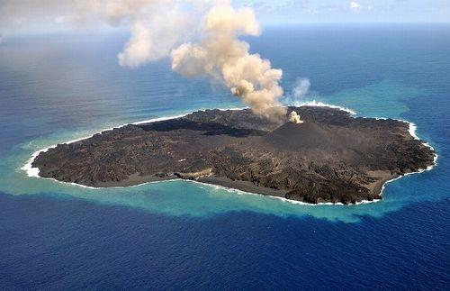 20150223の西之島の様子