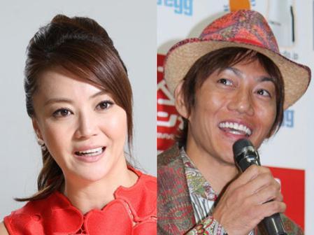 結婚を発表した観月ありささんと青山光司さん