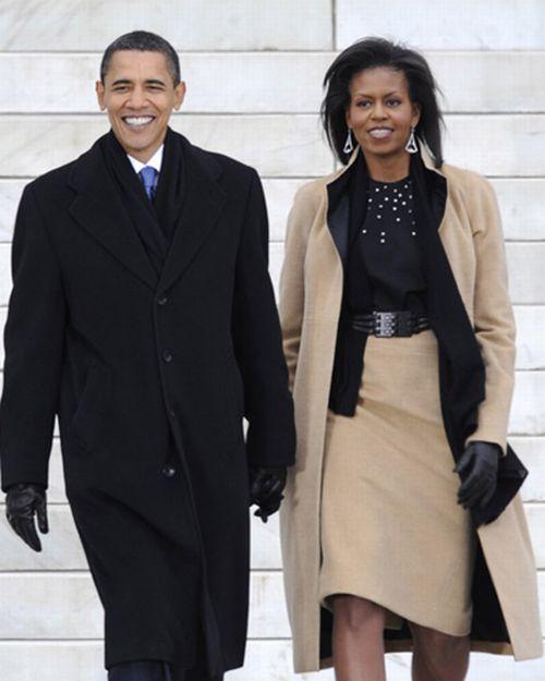オバマ大統領とミッシェル夫人