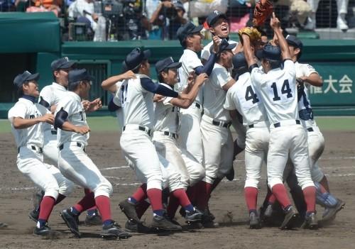 大阪桐蔭高校野球部の様子