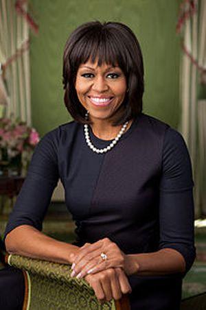 ミッシェル・オバマ大統領夫人の写真