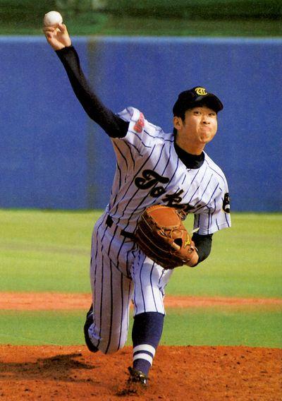 勝俣翔貴投手の写真