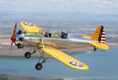 PT-22の飛んでいる様子
