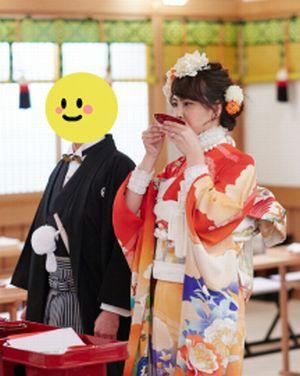 加藤夏希さんの挙式の衣装