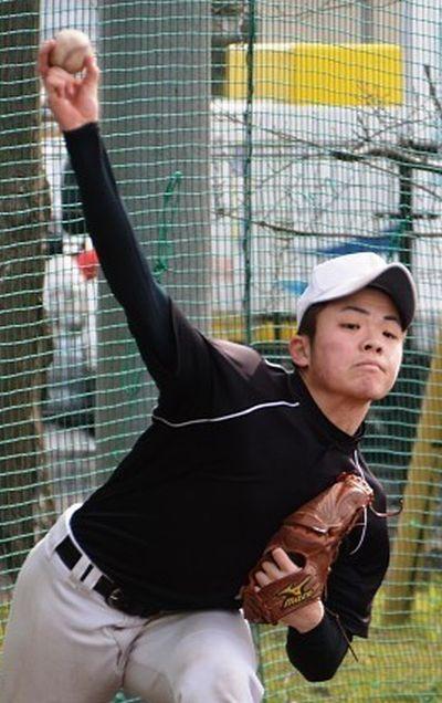 高橋晟一郎投手の写真