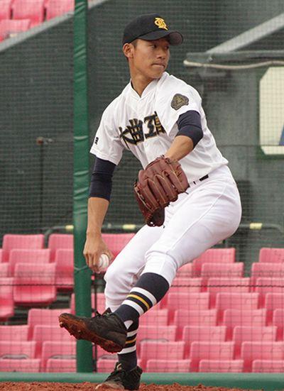 武田龍成投手の写真