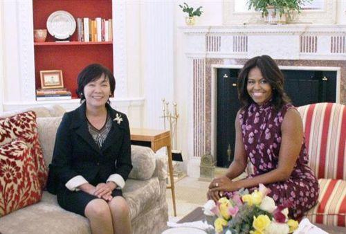 ミッシェル夫人と昭恵夫人
