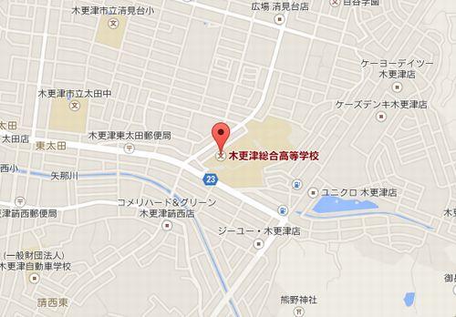 木更津総合の地図