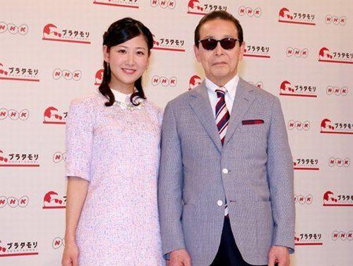 ブラタモリの記者発表タモリさんと桑子真帆アナ