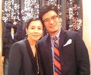 坂井真紀さんと丸山敬太さんのツーショット写真
