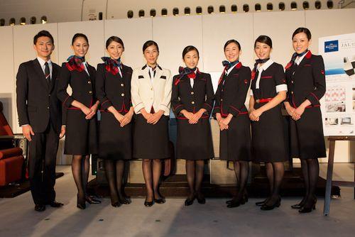 JALの制服