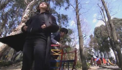長島一号公園で撮影されたドS刑事の様子