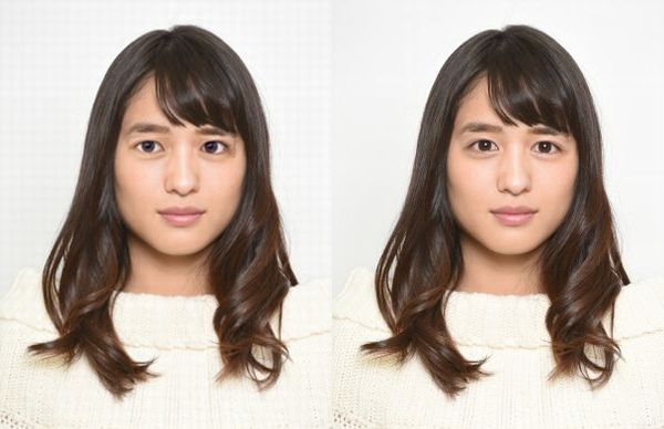 瀬田ジュンの目を志尊淳さんにしてみた写真を並べてみた