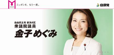 金子恵美衆議院議員ホームページ