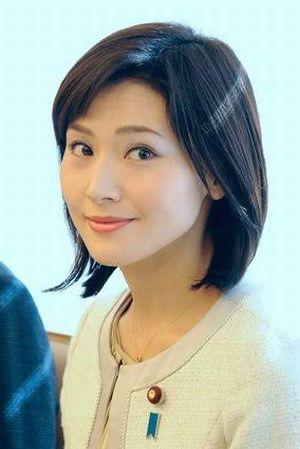 金子恵美議員、綺麗な人だ