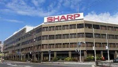 シャープの本社ビルの様子