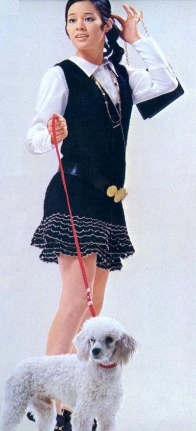 芳村真理さんの若いころの写真1