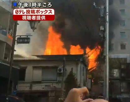 新宿ゴールデン街火災の火元や出火原因は?負傷者などの安否は?