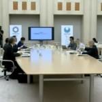 市場問題プロジェクトチームの会合の様子