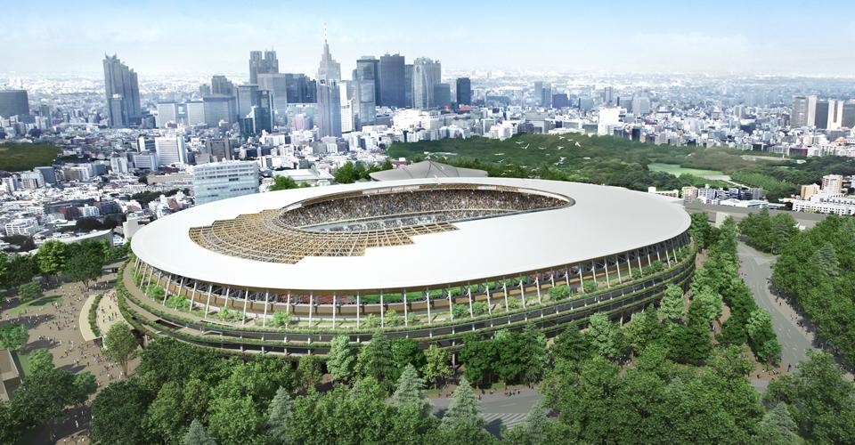 新国立競技場の建設予定図