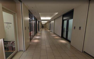 オランダヒルズ森タワー2階の廊下の様子